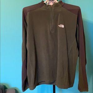 The North Face TKA 100 Light Half Zip Sweater M
